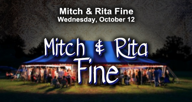 Community Tent Revival – Mitch and Rita Fine @ Camp Trinity
